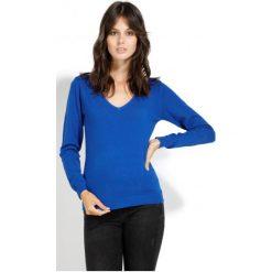 William De Faye Sweter Damski Xxl Niebieski. Niebieskie swetry damskie William de Faye, z kaszmiru. Za 189.00 zł.