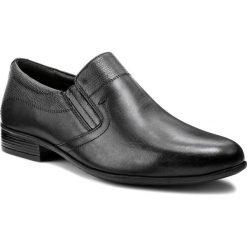 Półbuty LASOCKI FOR MEN - MI08-C346-384-04 Czarny. Czarne eleganckie półbuty Lasocki For Men, ze skóry. Za 179.99 zł.