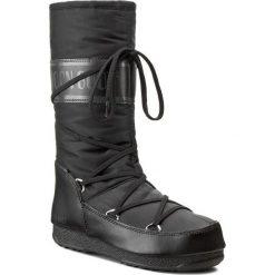 Śniegowce MOON BOOT - Soft Shade 24004500001  Nero/Black. Czarne kozaki damskie Moon Boot, z materiału. Za 599.00 zł.