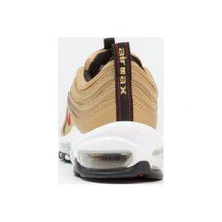Nike Sportswear AIR MAX 97 QS (GS) Tenisówki i Trampki metallic gold/varsity red/black/white. Buty sportowe chłopięce Nike Sportswear, z materiału. Za 589.00 zł.