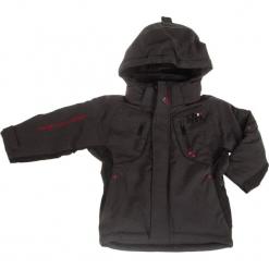 Kurtka narciarska w kolorze ciemnoszarym. Szare kurtki i płaszcze dla chłopców Peak Mountain. W wyprzedaży za 215.95 zł.
