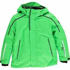Kurtka narciarska w kolorze zielonym. Zielone kurtki i płaszcze dla chłopców marki CMP Kids. W wyprzedaży za 207.95 zł.
