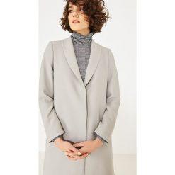 Simple - Bluzka. Szare bluzki damskie Simple, z dzianiny, casualowe, z golfem. W wyprzedaży za 279.90 zł.