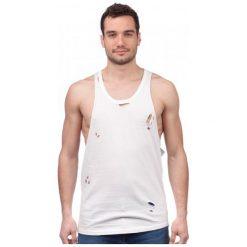 Brave Soul T-Shirt Męski Donal S Biały. Białe t-shirty męskie Brave Soul. W wyprzedaży za 32.00 zł.