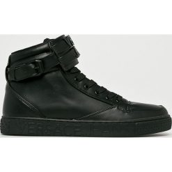 Versace Jeans - Buty. Czarne buty sportowe męskie Versace Jeans, z gumy. Za 799.90 zł.