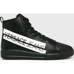 Versace Jeans - Trampki. Szare trampki męskie Versace Jeans, z gumy. Za 699.90 zł.