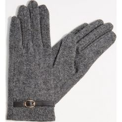 Rękawiczki z wełną - Szary. Szare rękawiczki damskie Mohito, z wełny. Za 39.99 zł.