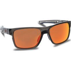 Okulary przeciwsłoneczne OAKLEY - Crossrange OO9361-1257 Grey Smoke/Prizm Ruby. Brązowe okulary przeciwsłoneczne męskie Oakley, z tworzywa sztucznego. W wyprzedaży za 579.00 zł.
