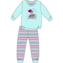 Piżama Kids Girl 594/95 turkusowa r. 128. Niebieskie bielizna dla chłopców Cornette. Za 49.87 zł.