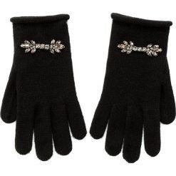 Rękawiczki Damskie MARELLA - Fanello 65660176 002. Czarne rękawiczki damskie Marella, z materiału. W wyprzedaży za 269.00 zł.
