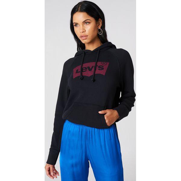 208eef199a Levi s Bluza z kapturem Graphic - Black - Bluzy damskie marki Levi s ...