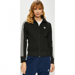 Adidas Originals - Bluza. Czarne bluzy damskie adidas Originals, z bawełny. Za 279.90 zł.