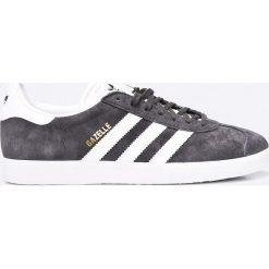 Adidas Originals - Buty Gazelle. Szare buty sportowe męskie adidas Originals, z gumy. Za 399.90 zł.