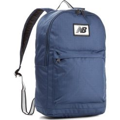 Plecak NEW BALANCE - Core Backpack 500176 403. Niebieskie plecaki damskie New Balance, z materiału, sportowe. W wyprzedaży za 179.00 zł.