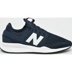 New Balance - Buty. Szare buty sportowe męskie New Balance, z gumy. W wyprzedaży za 349.90 zł.