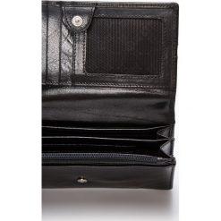 Samsonite - Portfel skórzany. Czarne portfele damskie Samsonite, z materiału. W wyprzedaży za 249.90 zł.