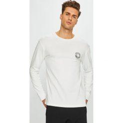 Review - Longsleeve. Szare bluzki z długim rękawem męskie Review, z bawełny, z okrągłym kołnierzem. Za 89.90 zł.