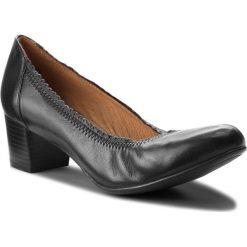 Półbuty CAPRICE - 9-22310-21 Black Nappa 022. Czarne półbuty damskie Caprice, ze skóry ekologicznej, eleganckie. W wyprzedaży za 189.00 zł.