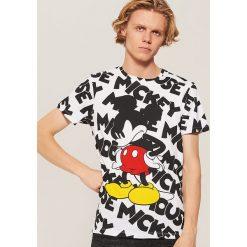 T-shirt Mickey Mouse - Wielobarwn. Szare t-shirty męskie House, z motywem z bajki. Za 59.99 zł.