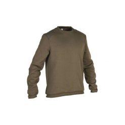 Sweter 300. Czarne swetry przez głowę męskie SOLOGNAC. Za 69.99 zł.