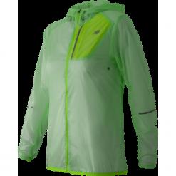 New Balance WJ61226SEF. Brązowe kurtki sportowe damskie New Balance, z materiału. W wyprzedaży za 179.99 zł.