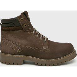 Wrangler - Buty Creek. Brązowe buty sportowe męskie Wrangler, z materiału. Za 399.90 zł.