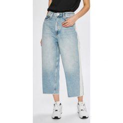 Pepe Jeans - Jeansy Eddie. Szare jeansy damskie Pepe Jeans. W wyprzedaży za 319.90 zł.