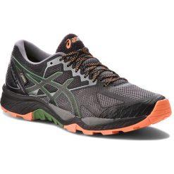 Buty ASICS - Gel-FujiTrabuco 6 G-TX GORE-TEX T7F0N  Carbon/Black 020. Czarne buty sportowe męskie Asics, z gore-texu. W wyprzedaży za 429.00 zł.