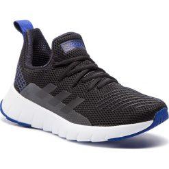 Buty adidas - Asweego F35568 Cblack/Cblack/Actblu. Czarne obuwie sportowe damskie Adidas, z materiału. Za 329.00 zł.
