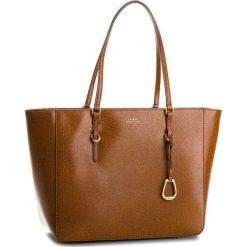 Torebka LAUREN RALPH LAUREN - Bennington 431687507002 Brown. Brązowe torebki do ręki damskie Lauren Ralph Lauren, ze skóry. Za 1,089.00 zł.