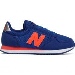 New Balance KL220BOY. Niebieskie buty sportowe chłopięce New Balance, z materiału. W wyprzedaży za 129.99 zł.