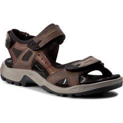 Sandały ECCO - Offroad 06956456401 Brown/Black. Brązowe sandały męskie ecco, z materiału. Za 459.90 zł.