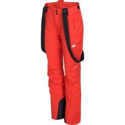 Spodnie narciarskie damskie SPDN300 - czerwony. Spodnie materiałowe damskie marki WED'ZE. Za 249.99 zł.