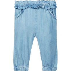 """Spodnie """"Rie"""" w kolorze błękitnym. Spodenki niemowlęce marki name it girls. W wyprzedaży za 62.95 zł."""