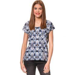 """Koszulka """"Bladina"""" w kolorze granatowym. T-shirty damskie Brunotti, z nadrukiem, z okrągłym kołnierzem, z krótkim rękawem. W wyprzedaży za 74.95 zł."""