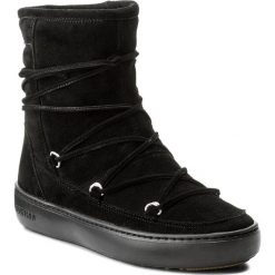 Śniegowce MOON BOOT - Pulse Mid 241017 Black. Czarne śniegowce i trapery damskie Moon Boot, z materiału. Za 759.00 zł.