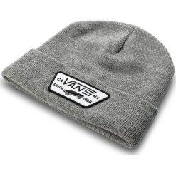 Czapka VANS - Milford Beanie VN000UOUHTG Heather Grey. Szare czapki i kapelusze damskie Vans, z materiału. Za 79.00 zł.