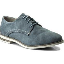 Oxfordy JENNY FAIRY - WS1275-9A  Jeansowy. Niebieskie półbuty damskie Jenny Fairy, z jeansu. Za 79.99 zł.
