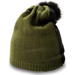 Czapka TWINSET - Cuffia OA7T51 Jacq.Sal 01465. Czarne czapki i kapelusze damskie Twinset, z materiału. W wyprzedaży za 169.00 zł.