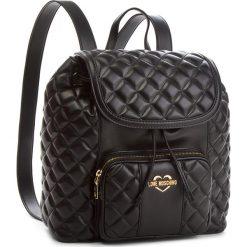 Plecak MOSCHINO - JC4001PP16LA0000 Nero. Czarne plecaki damskie Love Moschino, ze skóry ekologicznej. Za 959.00 zł.