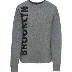 Bluza z nadrukiem bonprix szary melanż. Bluzy damskie marki KALENJI. Za 44.99 zł.
