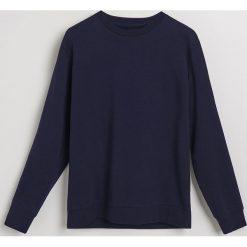 Bluza - Granatowy. Niebieskie bluzy męskie Reserved. Za 119.99 zł.