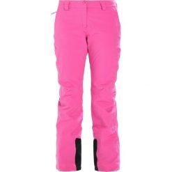 Salomon ICEMANIA  Spodnie narciarskie rose v. Spodnie snowboardowe damskie Salomon, z elastanu, sportowe. W wyprzedaży za 773.10 zł.