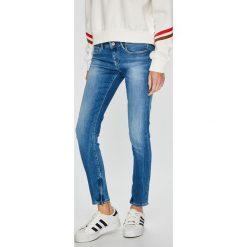 Pepe Jeans - Jeansy Cher. Niebieskie jeansy damskie Pepe Jeans. Za 379.90 zł.
