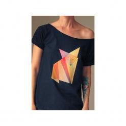 S-xxl lis origami koszulka tshirt czarny oversize. Czarne t-shirty damskie One mug a day. Za 85.00 zł.