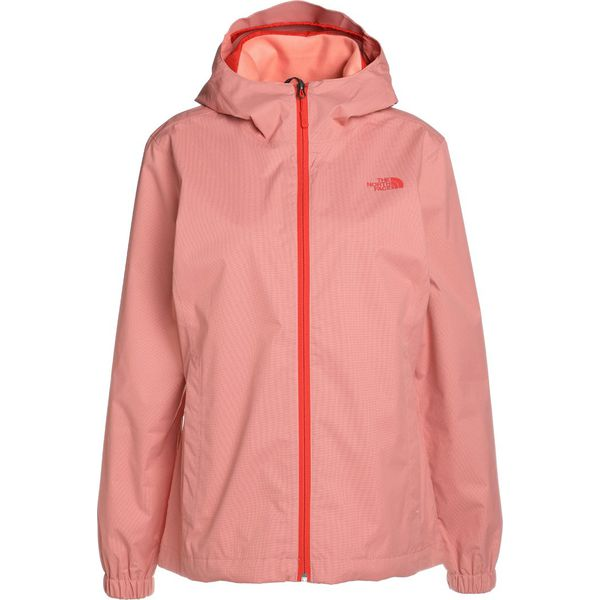 75f7f95e69fe The North Face QUEST JACKET Kurtka hardshell coral light red ...