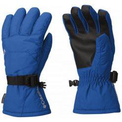 Columbia Rękawiczki Youth Whirlibird Glove Super Blue M. Niebieskie rękawiczki dziecięce Columbia, z syntetyku. W wyprzedaży za 85.00 zł.