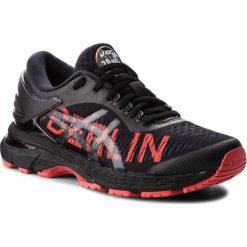 Buty ASICS - Gel-Kayano 25 Berlin 1012A119 Black/Classic Red 001. Czarne obuwie sportowe damskie Asics, z materiału. W wyprzedaży za 529.00 zł.