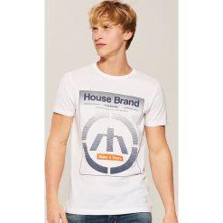 T-shirt Biały. Białe t-shirty męskie House. Za 35.99 zł.