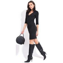 Fille Du Couturier Sukienka Damska Deborah 40 Czarny. Czarne sukienki damskie Fille Du Couturier, z koronki, eleganckie. Za 269.00 zł.